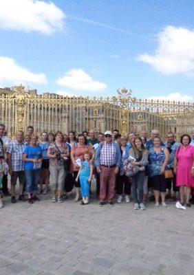 Sortie au château de Versailles