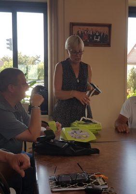 L'association «Ludovic, un défi pour la vie» offre un défibrillateur à l'école…