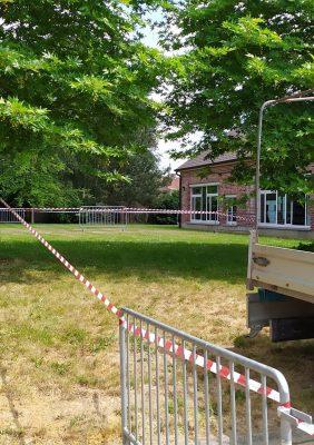 Préparation de l'école pour la reprise du Mardi 2 Juin