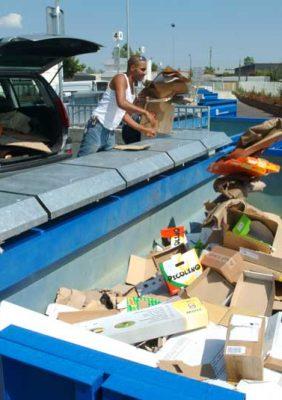 Reprise de la collecte des déchets verts / Annulation des encombrants