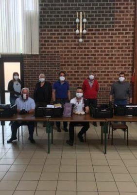 Distribution des masques