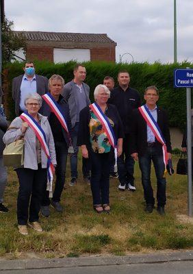 Inauguration de la rue Pascal Rensy