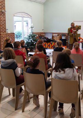 Spectacle de Noël des enfants