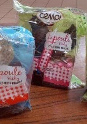 Distribution des chocolats de Pâques